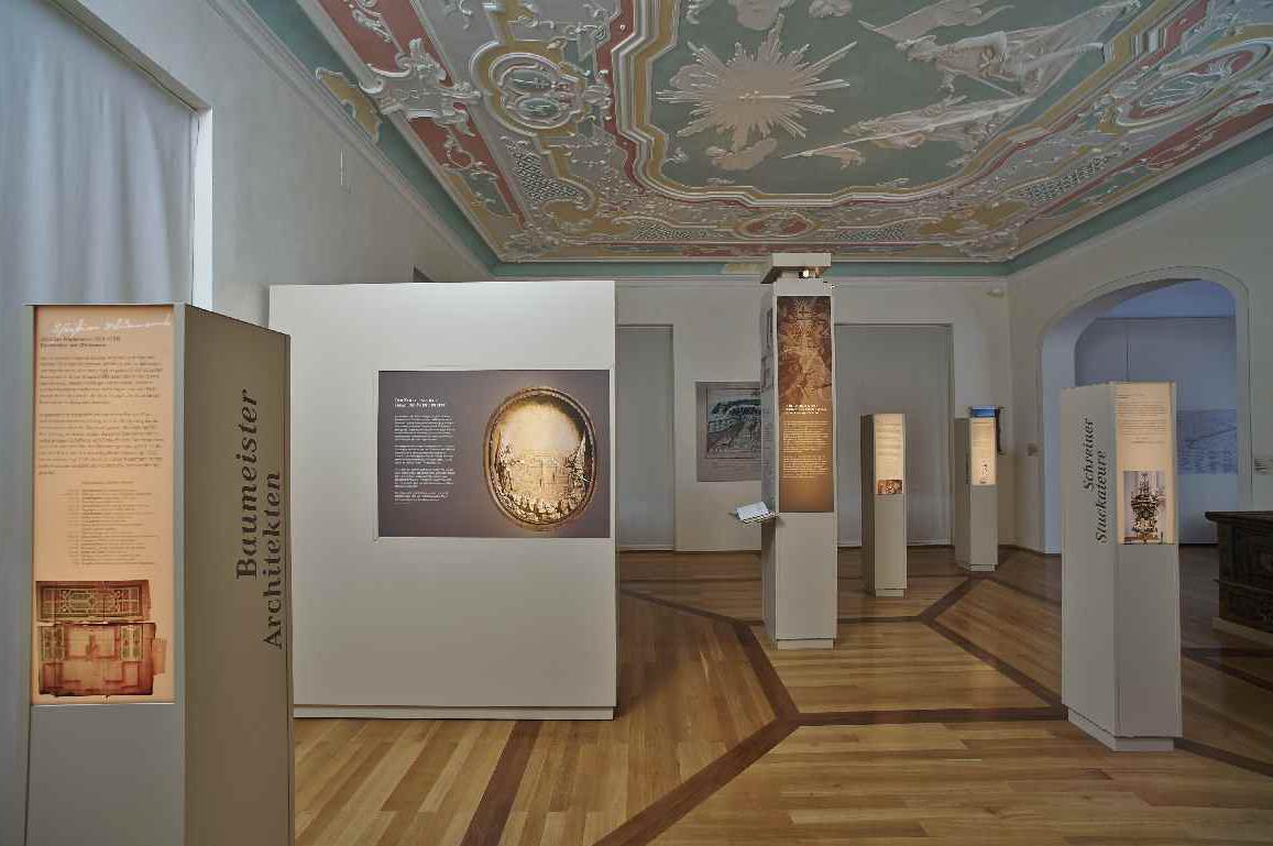 """Ausstellung im """"Museum im Konventbau""""; Foto: Staatliche Schlösser und Gärten Baden-Württemberg, Ortsverband Schussenried Wiblingen"""