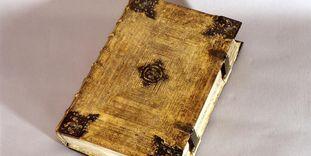 Liturgisches Gesangbuch in der Münsterschatzkammer in Reichenau-Mittelzell