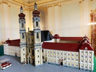 Nachbau Kloster Wiblingen Lego
