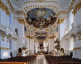 Innenansicht von Kloster Wiblingen