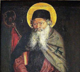 Gemälde des heiligen Antonius Eremita