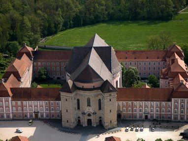 Kloster Wiblingen von oben