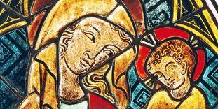 Chorfenster in der Klosterkirche Heiligkreuztal