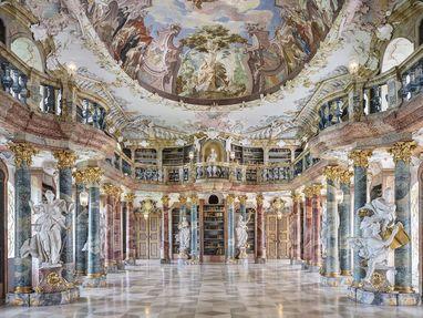 Kloster Wiblingen, Bücherei
