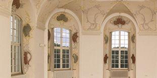 Fenster im Kapitelsaal, Kloster Wiblingen