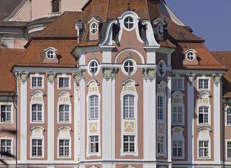 Die barocke Fassade des Ostflügels