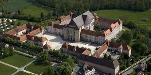 Kloster Wiblingen, Luftaufnahme